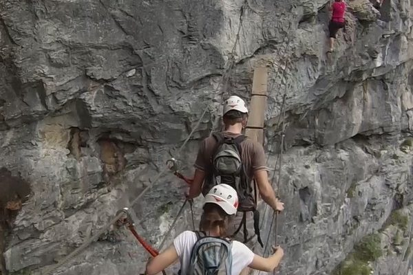 Via Ferrata Thonon